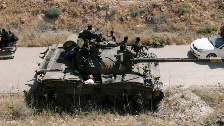 Siria despliega soldados para proteger a los civiles en Daraa