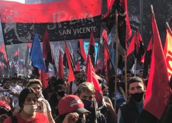 Marcha por San Cayetano: la UTEP reclamó un salario universal y créditos para la economía popular