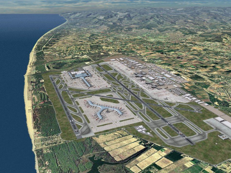 Juantxo López de Uralde y Ada Colau muestran una clara oposición a la ampliación del aeropuerto de El Prat