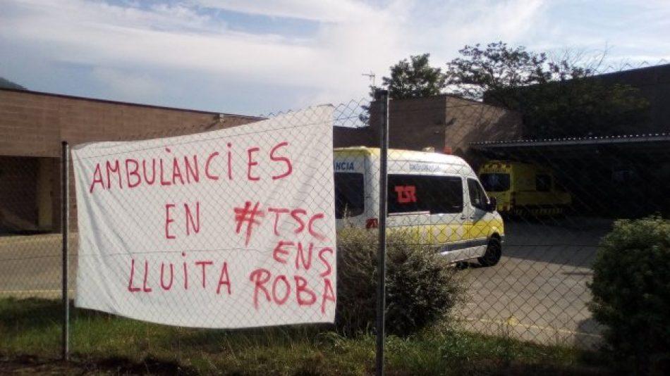 Tècnics en Lluita i Salvem les Ambulàncies: reunió amb tots els sindicats i plataformes del sector a Catalunya