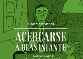 Presentación en Conil de «AcercarseaBlasInfante», un cuaderno didáctico para combatir la desmemoria en Andalucía