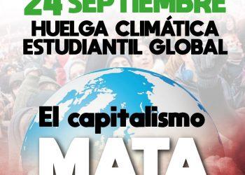 24 de septiembre. Huelga climática estudiantil internacional: El capitalismo mata el planeta, ¡tenemos que defenderlo!