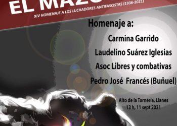 XIV Homenaje a los luchadores antifascistas Mazucu 2021