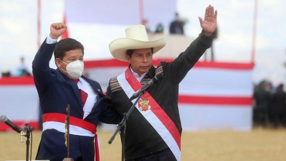 Ricardo Jiménez, de ALBA Movimientos: «Por primera vez en 40 años, la derecha visualiza que hay un Presidente en Perú que no les tiene miedo»