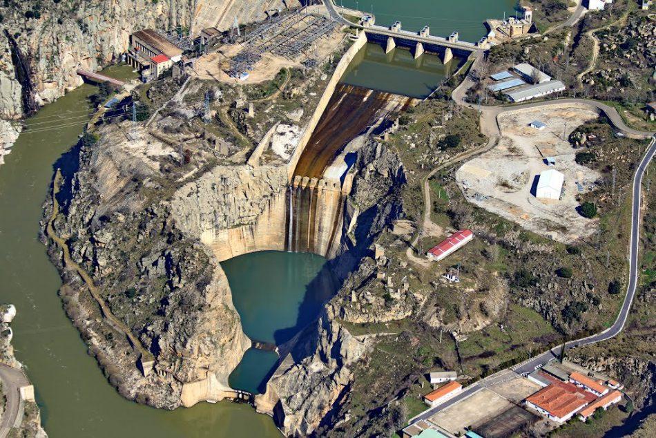 IUCyL trabaja con el Grupo Parlamentario de Unidas Podemos sobre el brusco vaciado de la presa de Ricobayo