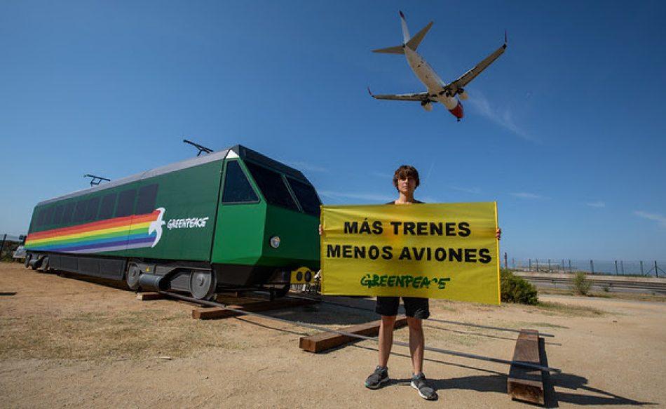 Greenpeace denuncia la incoherencia climática del Gobierno Central y la Generalitat tras el acuerdo para la ampliación de El Prat