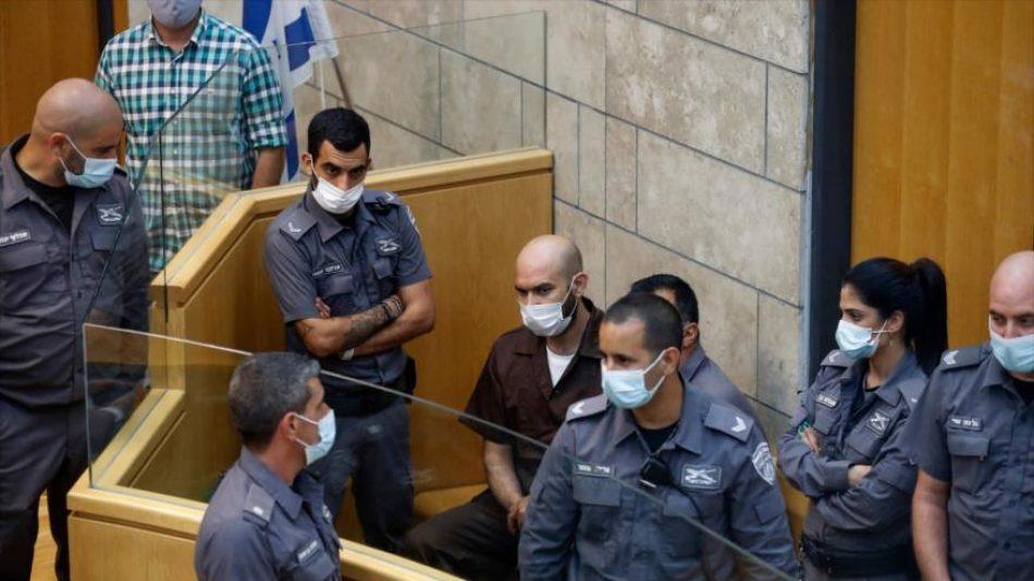 Israel maltrata física y verbalmente a los seis presos palestinos
