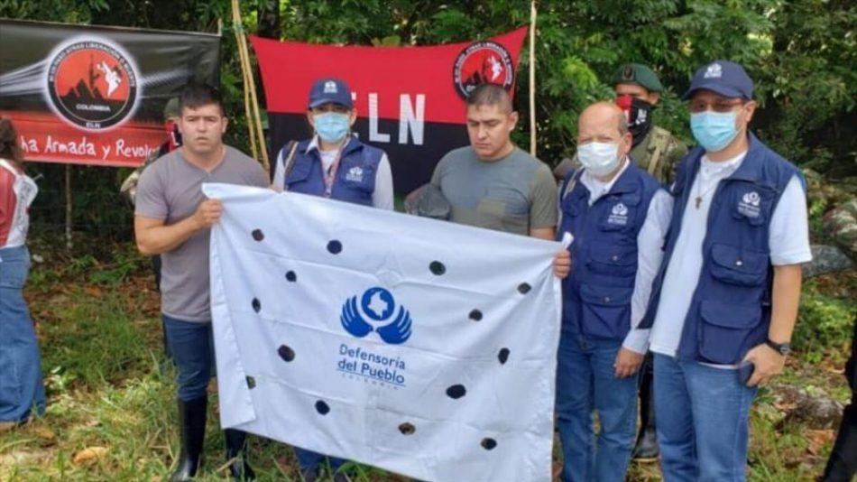 El ELN libera a dos militares secuestrados en Colombia