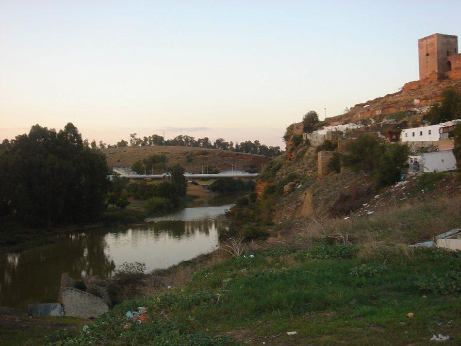 Ismael Sánchez denuncia el nuevo episodio de contaminación que ha sufrido el río Guadaíra en Sevilla
