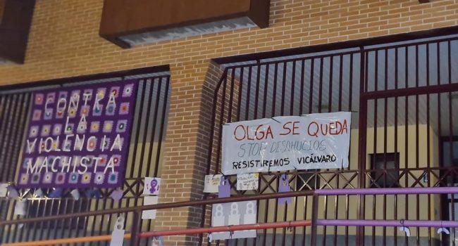 La vuelta a la normalidad y la vuelta a los desahucios: los fondos buitres Hipoges Iberia y Prosil Acquisition quieren expulsar a una vecina víctima de violencia de género y a sus tres hijos de su vivienda