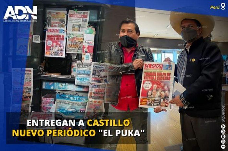 Perú. Roger Taboada, director del periódico «El Puka»: «Estamos dando una batalla contra la agresión brutal de los medios de derecha»