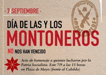 Argentina. 7 de septiembre, día de las y los montoneros