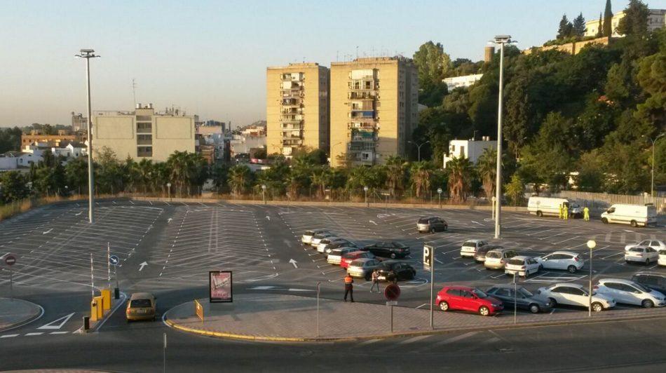 """Rojas: """"La puesta en marcha de los aparcamientos metropolitanos debe ser prioritaria"""""""