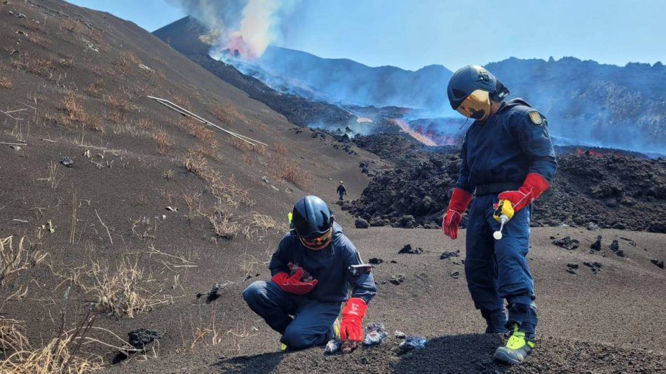 Así se enfrenta la ciencia española al volcán