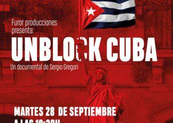 El largometraje 'Unblock Cuba' se estrenará el 28 de septiembre en la sede de CCOO en Madrid