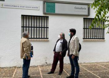 Ismael Sánchez demanda a la Junta la vuelta de los servicios a los Centros de Salud de Pañoleta, Carambolo y Coca de la Piñera de Camas, Sevilla