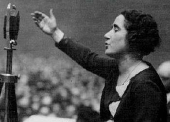 El Teatro del Barrio homenajea a Clara Campoamor en el 90 aniversario del voto femenino