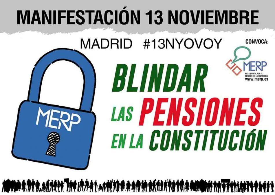 """""""El cambio cultural que necesitamos es blindar las pensiones en la Constitución"""""""
