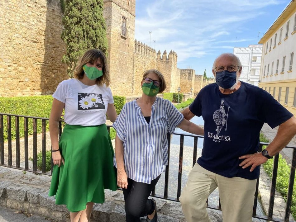 """Equo Andalucía anuncia una """"movilización verde"""" si el Gobierno de la Junta no establece políticas ante la Emergencia Climática"""