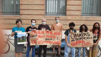 Movilizaciones en México y en Europa denuncian la violencia contra las zapatistas