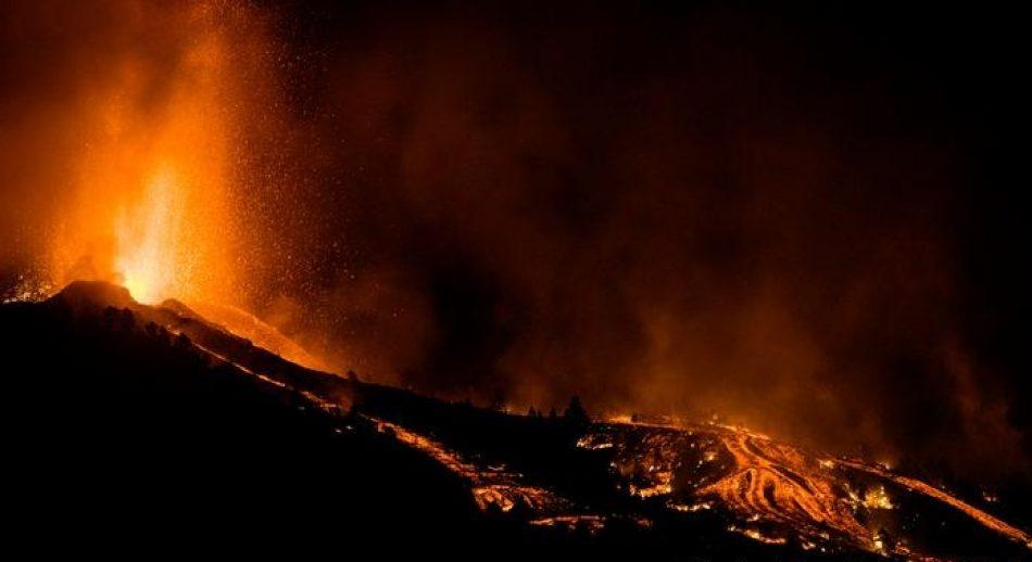 El gobierno se compromete a cubrir los daños a la población de La Palma