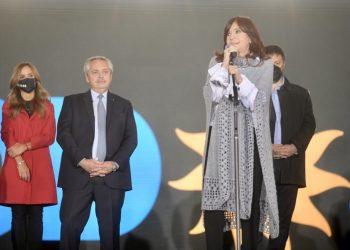 Cristina Fernández transmite su respaldo al gobierno argentino tras la derrota en las PASO