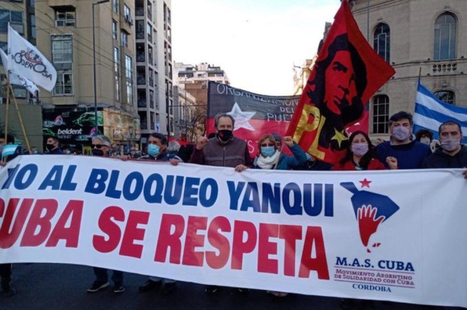 Desde 20 urbes del mundo exigen el fin del bloqueo de EEUU a Cuba