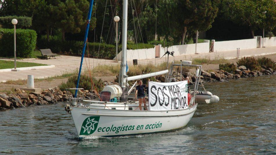 El velero Diosa Maat inicia una campaña en el Mar Menor