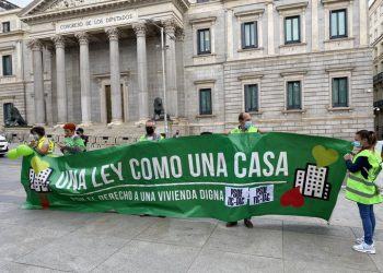 #PSOEtictac: Organizaciones sociales, sindicatos y nueve partidos políticos impulsan una Ley de Vivienda que contempla la regulación del precio del alquiler