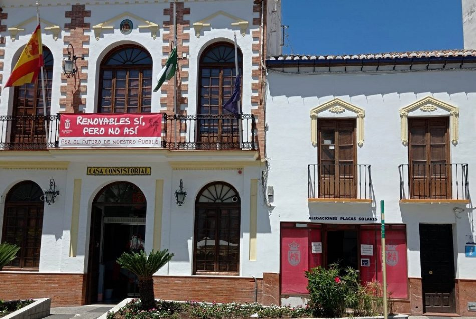Verdes de Europa-Tarifa advierte de los daños de una implantación de energía solar masiva y desordenada en el Campo de Gibraltar