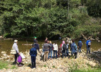 Red Cambera busca personas voluntarias para estudiar y proteger los ríos de Cantabria