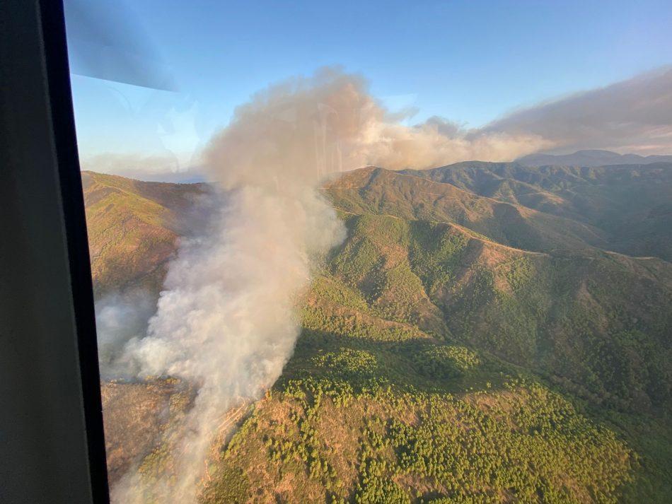Más País pedirá la declaración de zona catastrófica y que Sierra Bermeja se incluya dentro del Parque Nacional Sierra de las Nieves