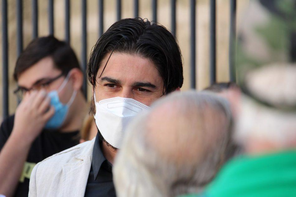 Ismael Sánchez eleva a la Junta las denuncias sobre el Centro de Salud María Fuensanta Pérez Quirós de Sevilla