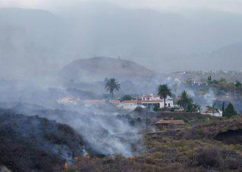 La superficie cubierta de lava crece un 50 % en doce horas y llega a 153 hectáreas