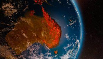 Las cenizas de incendios forestales en Australia fertilizaron el océano Pacífico