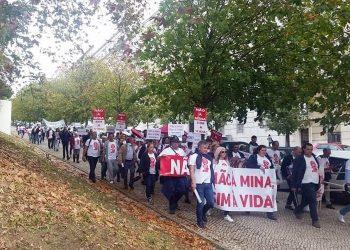Ecoloxistas en Acción rexeita a megamina de litio do Barroso en Portugal