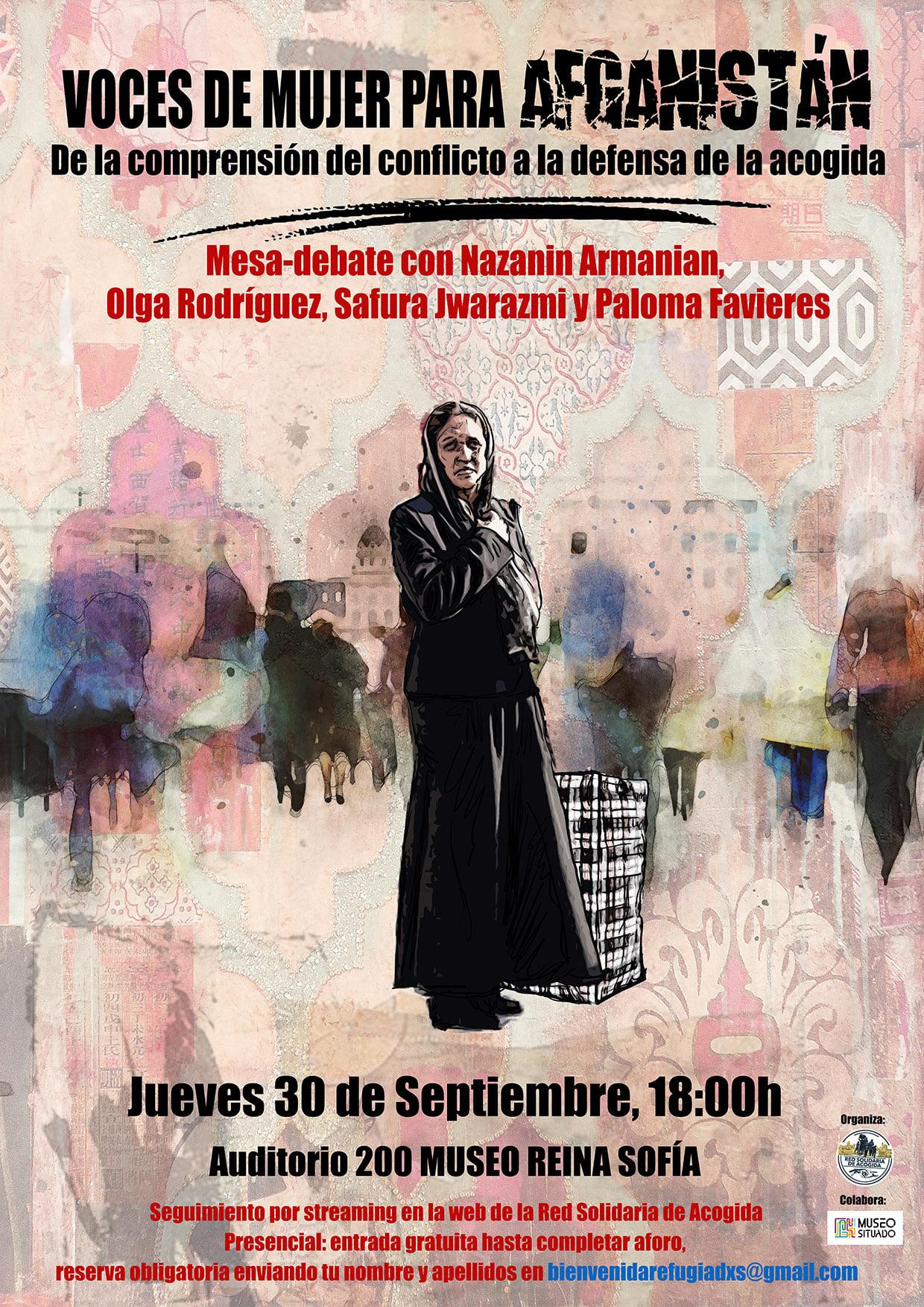 """Mesa-debate: """"Voces de mujer para Afganistán. De la comprensión del  conflicto a la defensa de la acogida"""" - Tercera Información -Tercera  Información"""