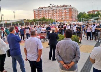 CCOO y el PCE homenajean en Getafe a Pedro Patiño en el 50 aniversario de su asesinato