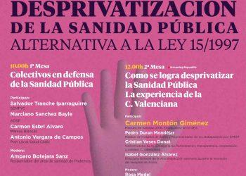 Unidas Podemos avanza hacia la desprivatización sanitaria iniciada por Aznar