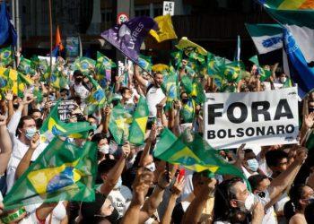 Continúan las movilizaciones en Brasil para exigir la destitución de Bolsonaro