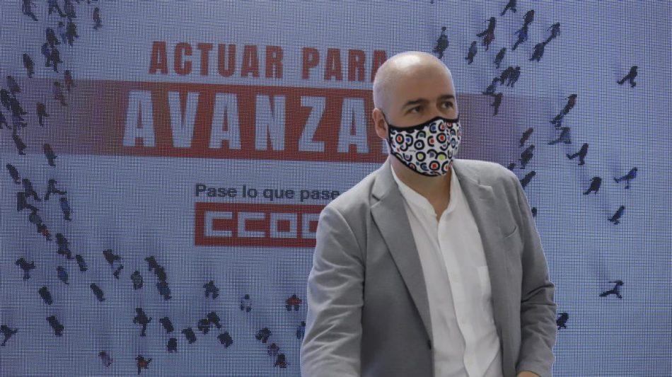 Unai Sordo anuncia su candidatura a la reelección como secretario general