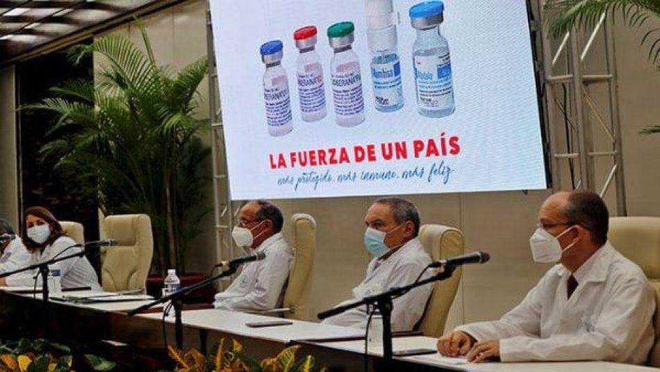 Cuba buscará ante la OMS aval para sus vacunas antiCOVID-19