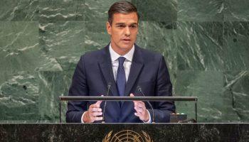 Pedro Sánchez aboga por el refuerzo de la OTAN en su intervención ante Naciones Unidas