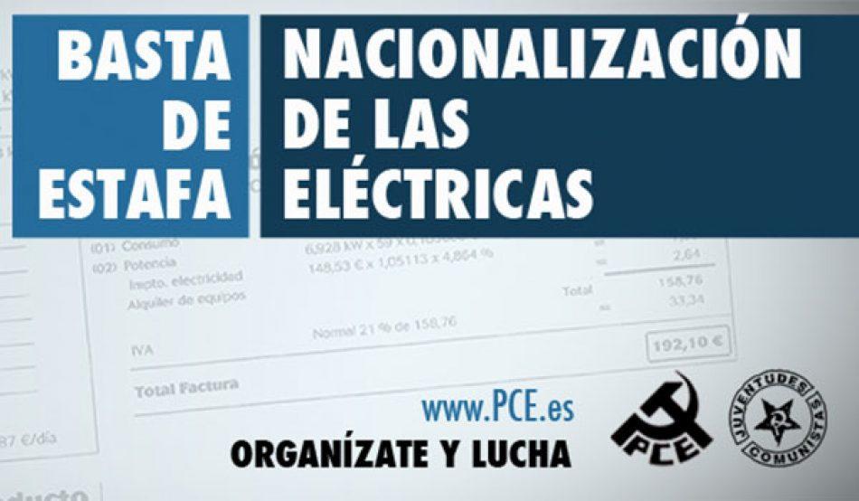 """El PCE de El Bierzo propone que HUNOSA constituya una energética pública para """"bajar los precios, democratizar la energía y fomentar la industria"""""""