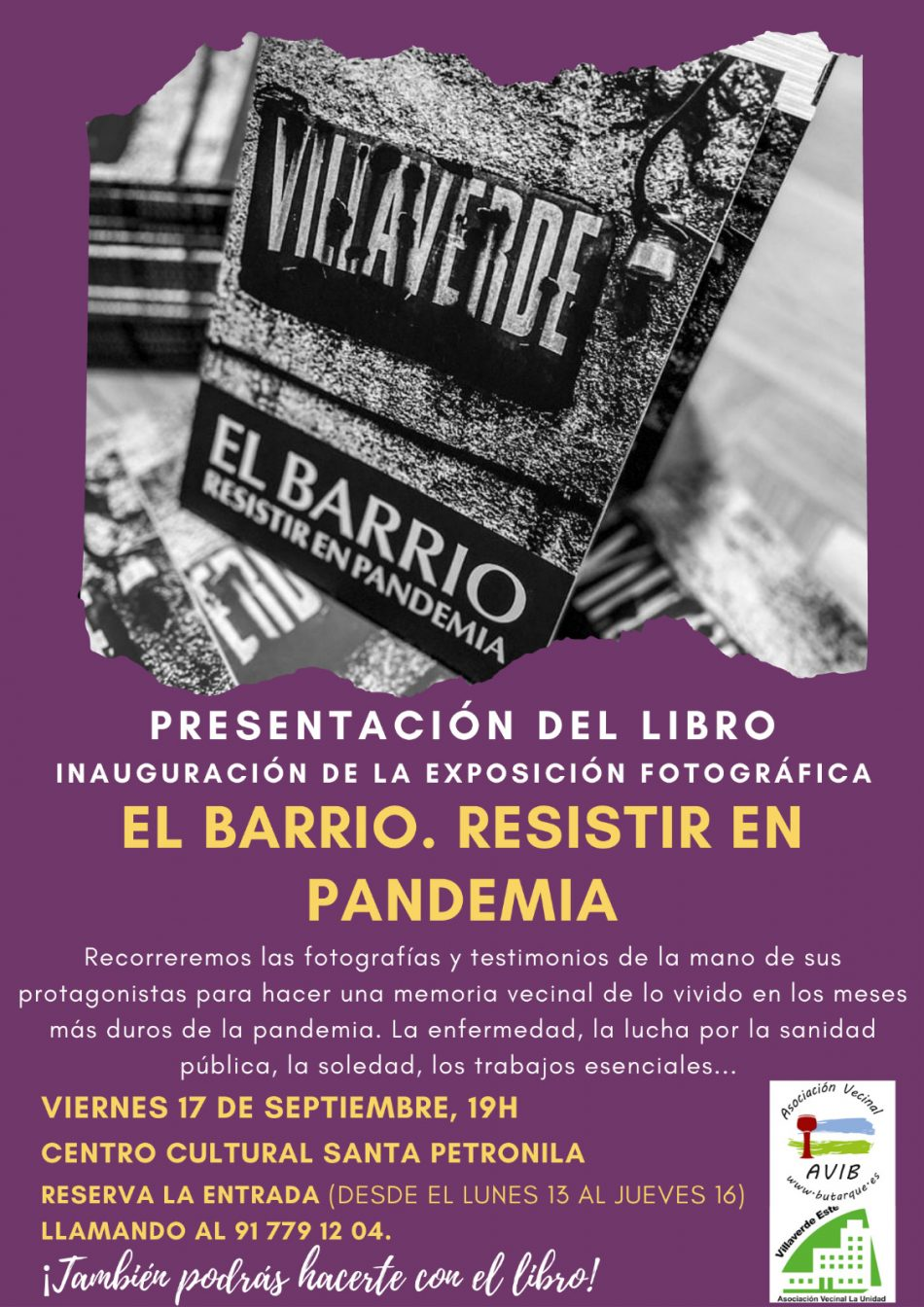 El barrio, epicentro de la resistencia frente a la pandemia