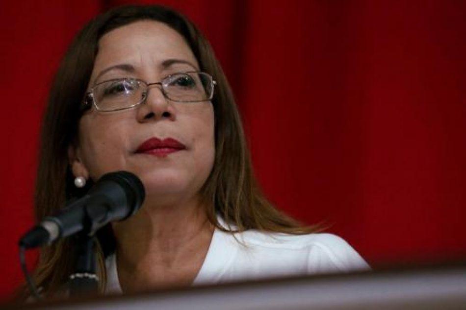 Entrevista a la diputada venezolana Tania Diaz «Hay un entramado cultural, político y semiótico que nos quiere llevar de nuevo al coloniaje»