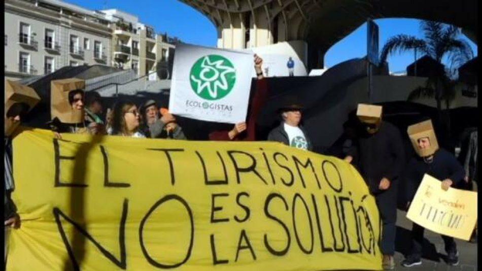 Colectivos, sindicatos y partidos, se unen contra el modelo turístico por el Día Mundial del Turismo