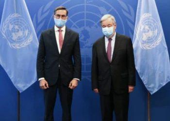 Canciller venezolano sostiene encuentro con secretario general de ONU
