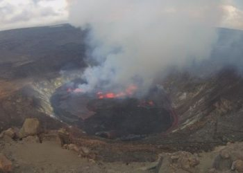 Volcán Kilauea, en Hawai, entra en erupción