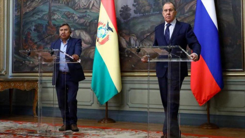 Rusia y Bolivia piden el fin de las sanciones contra Venezuela y Cuba